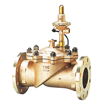 Pilot Operated Float Valve With Sustaining Valve